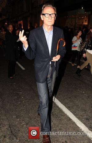 Bill Nighy Fashion's Night Out - New Bond Street London, England - 08.09.11