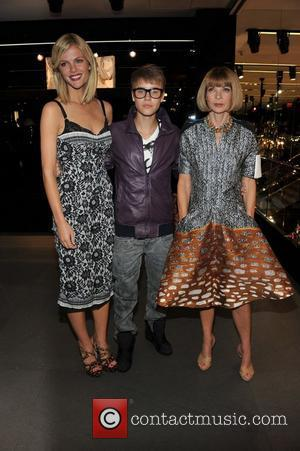 Brooklyn Decker, Justin Bieber and Anna Wintour Fashion Night Out - Dolce & Gabbana launch the Passion Duo lipstick New...