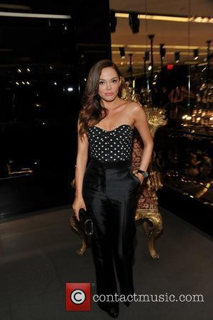 Rose McGowan Fashion Night Out - Dolce & Gabbana launch the Passion Duo lipstick New York City, USA - 08.09.11...