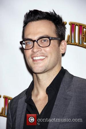 Cheyenne Jackson Opening night of the Broadway musical production of 'Follies' at the Marquis Theatre - Arrivals New York City,...