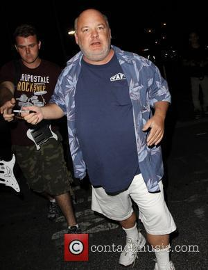 Kyle Gass arrives for the 'Foo Fighters' concert at The Forum Los Angeles, California - 13.10.11