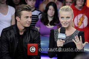 Kenny Wormald and Julianne Hough  appear on Much Music's New.Music.Live promoting their upcoming movie 'Footloose'.  Toronto, Canada -...