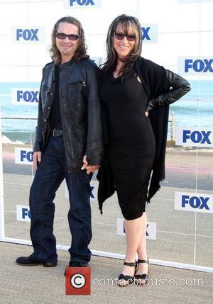 Kurt Sutter and Katey Sagal 2011 Fox All Star Party at Gladstone's Malibu - Arrivals Los Angeles, California - 05.08.11