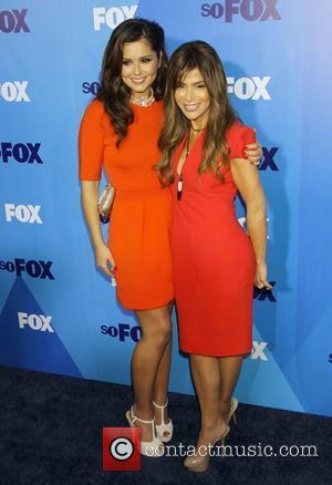 Paula Abdul and Cheryl Cole