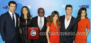 Steve Jones, Cheryl Cole, Nicole Scherzinger and Paula Abdul