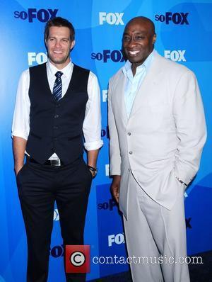 Michael Clarke Dunkan and Geoff Stults FOX upfront presentation - Arrivals New York City, USA - 16.05.11