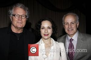 Chris Calkins, Bebe Neuwirth and Joseph P. Benincasa The Seventh Annual Fred Ebb Award presentation at the American Airlines Theatre...