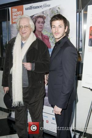 Bertrand Tavernier and Gaspard Ulliel