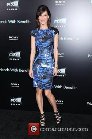 Perrey Reeves New York premiere of 'Friends with Benefits', held at the Ziegfeld Theater - Arrivals New York City, USA...