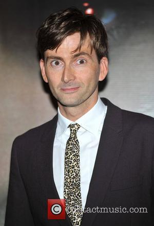 David Tennant Fright Night UK premiere held at the O2 Arena - Arrivals. London, England - 14.08.11