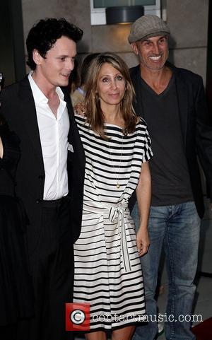 Anton Yelchin, Stacey Snider, and Craig Gillespie 'Fright Night' Los Angeles Screening - Red Carpet at ArcLight Cinemas Hollywood, California...