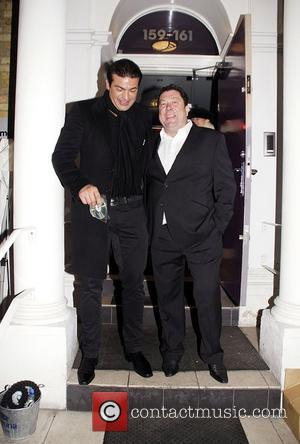 Tamer Hassan outside Funky Mojoe club In South Woodford Essex, England - 28.01.11