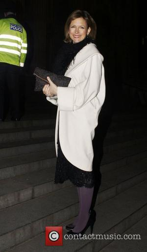 Katie Derham  Gala Concert In Aid Of St Paul's Cathedral - Outside Arrivals London England - 03.03.11