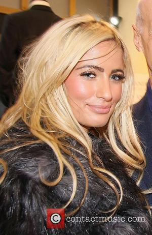 Chantelle Houghton  Gary Anderson launch party on Saville Row London, England - 24.11.11
