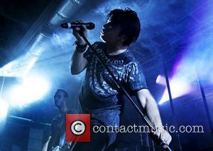 Gary Numan performing his final night of 'Dead Son Rising' U.K. tour at the Liverpool O2 Academy. Liverpool, England -...