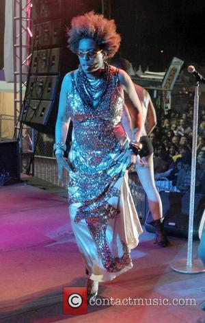 Macy Gray Gay Pride 2011 Opening Night Purple Party Show held at The West Hollywood Park West Hollywood, California -...