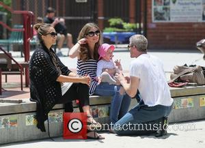 Rebecca Gayheart, Eric Dane and Jessica Alba