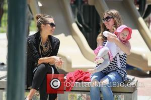 Rebecca Gayheart and Jessica Alba