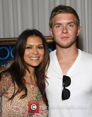 Nia Peeples and Chris Brochu 2011 GBK Kids' Choice Awards Gifting Lounge held at THE SLS Hotel - Day 2...