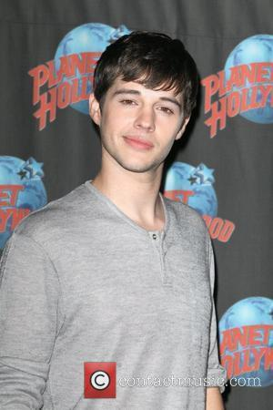 Matt Prokop Disney film stars attend a press event for their new movie 'Geek Charming' held at Planet Hollywood in...