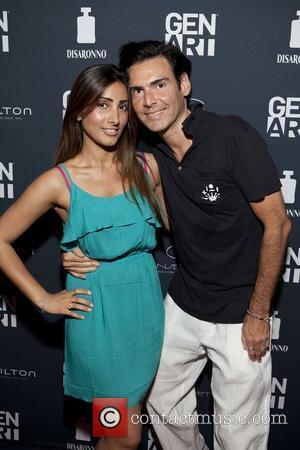 Ian Gerard(Founder of Gen Art) & Mae Bagai  16th Annual Gen Art Film Festival held at the Ziegfeld Theatre...