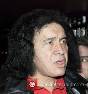 Gene Simmons at the 'Inner City Elegance' special showcase performance for Gene Simmons at the Cherry Cola's Rock & Roll...
