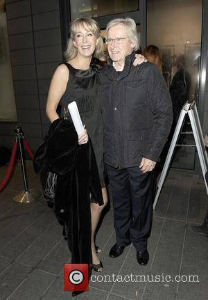 William Roach and girlfriend Emma Jesson at Generation Pop art gallery for Coronation Street photographer Rob Evans charity picture auction...