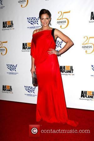 Amanda Righetti 25th Anniversary Genesis Awards held at The Hyatt Regency Century Plaza Hotel - Arrivals  Los Angeles, California...