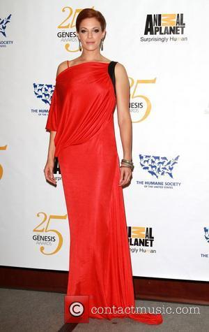 Amanda Righetti 25th Anniversary Genesis Awards held at The Hyatt Regency Century Plaza Hotel - Press Room Los Angeles, California...