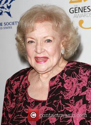 Betty White 25th Anniversary Genesis Awards held at The Hyatt Regency Century Plaza Hotel - Press Room Los Angeles, California...