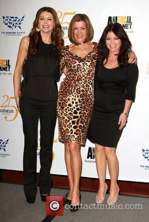 Jane Leeves, Wendie Malick and Valerie Bertinelli 25th Anniversary Genesis Awards held at The Hyatt Regency Century Plaza Hotel -...