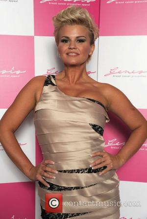Kerry Katona The Genesis Breast Cancer Prevention Appeal celebrates 15 years with the Genesis Crystal Ball at the Hilton Hotel...