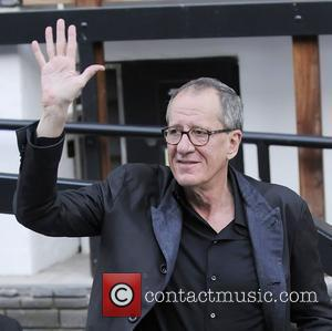 Kings Speech actor Geoffrey Rush outside the ITV Studios  London, England - 12.05.11