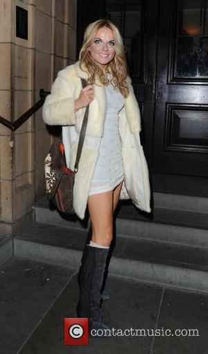 Geri Halliwell Celebrities arrive at The Royal Albert Hall to watch George Michael perform in concert London, England - 25.10.11