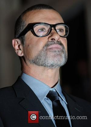 George Michael  attends a press conference at the Royal Opera House to announce details of a new tour London,...
