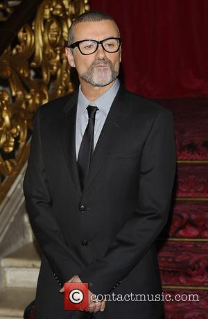 George Michael  attends a press conference at the Royal Opera House to announce details of a new tour...