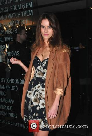 Sunday Girl, real name Jade Williams,  Dolce & Gabbana Dress Me Up party at their London flagship store on...