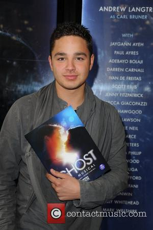 Adam Thomas  arrives for the world premiere of 'Ghost' at the Opera house Manchester, England - 12.04.11