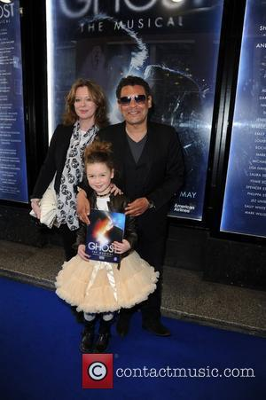 Craig Charles and Family  arrive for the world premiere of 'Ghost' at the Opera house Manchester, England - 12.04.11