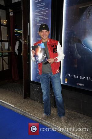 Ryan Thomas  arrives for the world premiere of 'Ghost' at the Opera house Manchester, England - 12.04.11