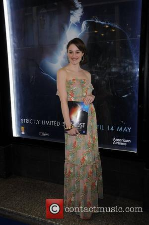 Paula Lane arrives for the world premiere of 'Ghost' at the Opera house Manchester, England - 12.04.11