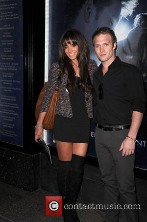 Chris Fountain and Girlfriend 'Ghost' world premiere at the Opera house - Arrivals  Manchester, England - 12.04.11