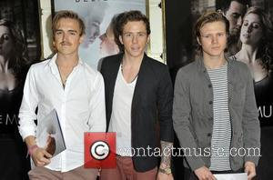 McFly press night for 'Ghost: The Musical' held at Piccadilly Theatre - Arrivals London, England - 19.07.11