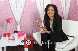 Gina Torres visits the Gifting Services held at Gifting Services showroom Los Angeles, California - 26.10.11