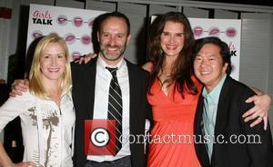 Angela Kinsey, Roger Kumble, Brooke Shieldss and Ken Jeong The opening night of 'Girls Talk' starring Brooke Shieldss held at...
