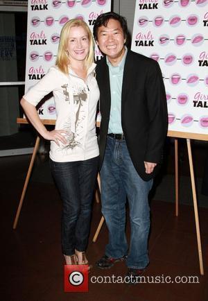 Angela Kinsey and Ken Jeong