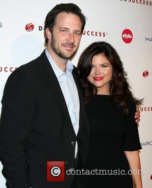Tiffani Thiessen and her husband Brady Smith 3rd Annual Give & Get Fete benefiting Dress for Success Worldwide-West at the...