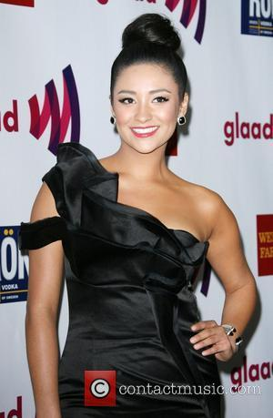 Shay Mitchell 22nd Annual GLAAD Media Awards held at the Westin Bonaventure Hotel Los Angeles, California - 10.04.11