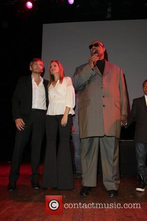 Ken Paves, Marlee Matlin, Stevie Wonder and House Of Blues