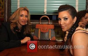 Felicity Huffman and Kim Kardashian